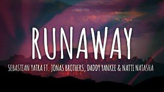 Sebastian Yatra Ft. Jonas Brothers, Daddy Yankee - Runaway (Lyrics) // #vevoCertified //#trending