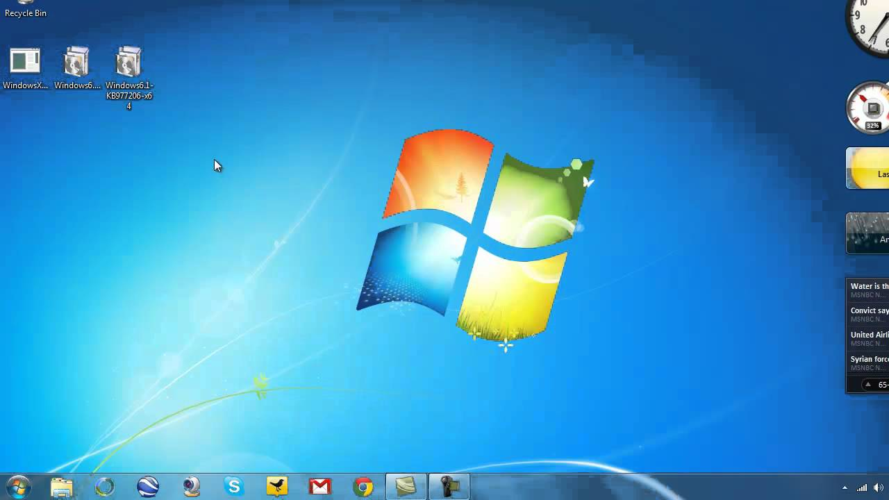 how to change your windows xp to windows 7 for free