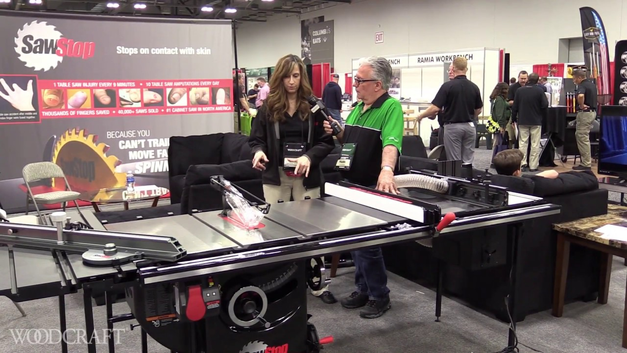The Sawstop Folding Outfeed Table Presented By Woodcraft Youtube