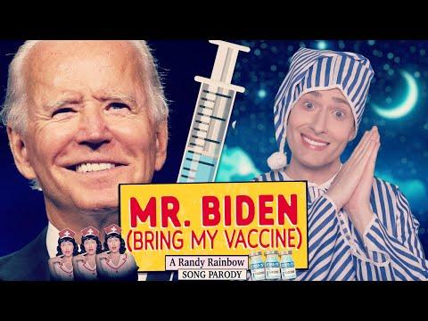 MR. BIDEN (Bring My Vaccine) - A Randy Rainbow Song Parody