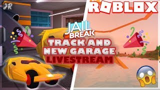 *NEW* JAILBREAK TRACK & GARAGE UPDATE! LIVE STREAM! | ROBLOX INDONESIA