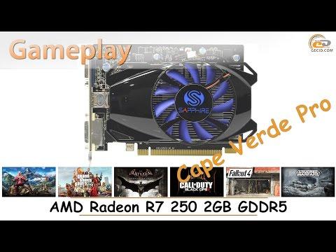 AMD Radeon R7 250 2GB GDDR5: gameplay в 17 популярных играх