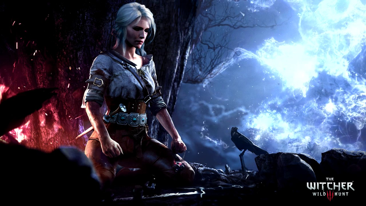 Witcher 3 | Ciri meditatation | Wallpaper Engine Steam Workshop item - YouTube