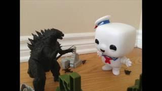 Godzilla vs. Stay Puft Marshmallow Man