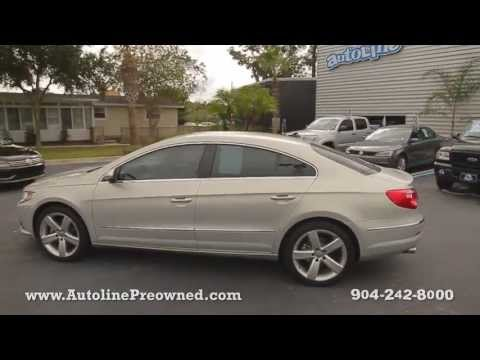 Autoline Preowned 2011 Volkswagen CC Luxury For Sale Used Walk Around Review Test Drive Jacksonville