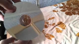 Как быстро очистить CD или DVD