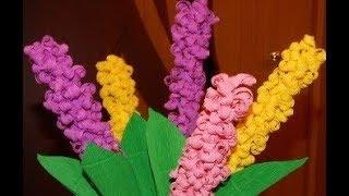 Как Сделать подарок маме,учительнице,бабушке за 5 минут Цветы Бумаги Детские Поделки своими руками