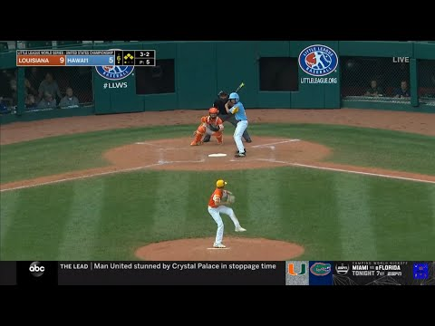 LLWS 2019 USA Championship Game Highlights | Louisiana vs Hawaii | 2019 Little League World Series