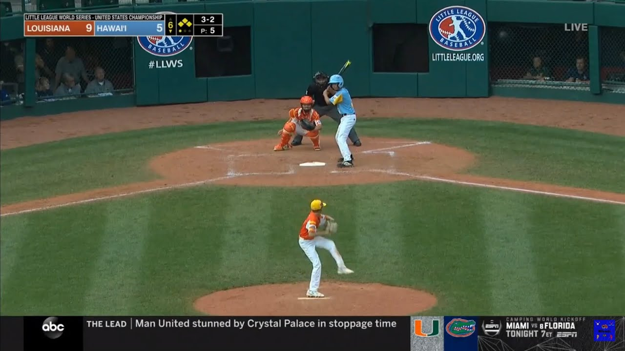 Louisiana will play Curacao for Little League World Series championship Sunday