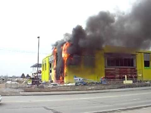 Lincoln High School On Fire Youtube