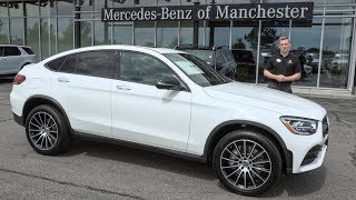 NEW 2020 Mercedes-Benz GLC 300 Coupe 4MATIC tour with Austin