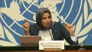 المتحدثة باسم خارجية قطر ترد على صحفي مصري حول وجود قيادات الإخوان بالدوحة