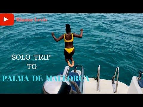 Solo Trip To Palma De Mallorca || Spain