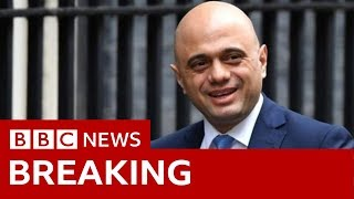 UK Cabinet reshuffle: Sajid Javid resigns as chancellor  - BBC News