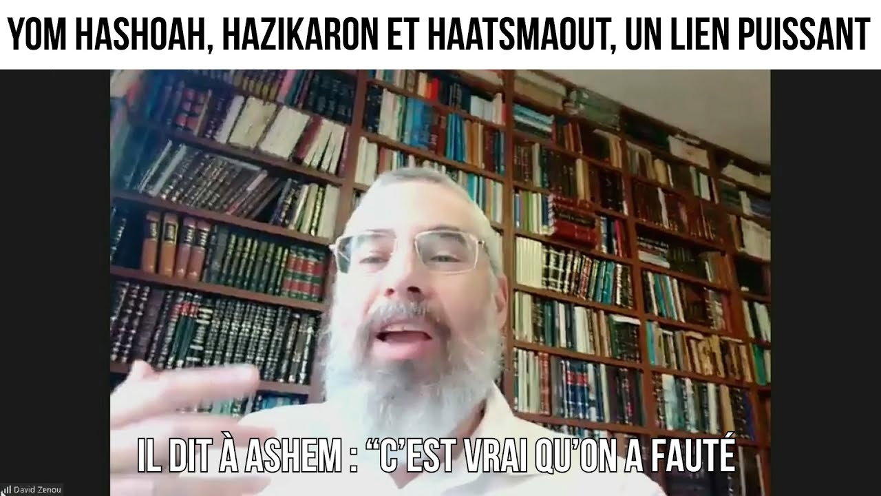 Yom Hashoah, Hazikaron et Haatsmaout, un lien puissant -  L'invité du 9 avril 2021