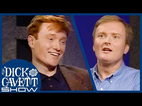 Conan O'Brien & Steve O'Donnell On The Differences Between SNL and Letterman   The Dick Cavett Show