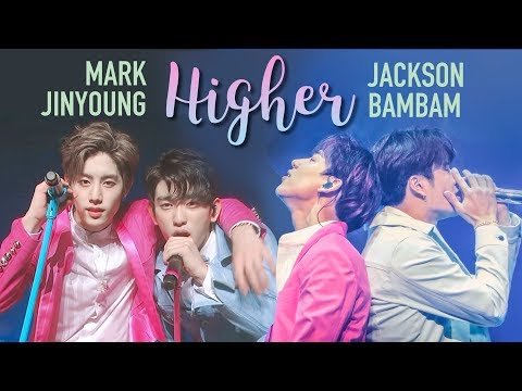 GOT7 Jackson & Bambam X Mark & Jinyoung - Higher Comparison (Split Audio)