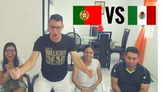 Reacción México vs Portugal 18/06/17 (2-2) Copa Confederaciones 2017