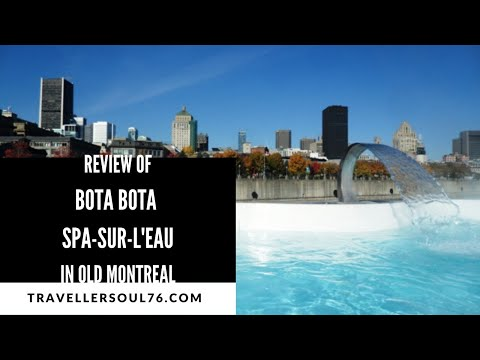 Bota Bota Spasurleau In Montreal YouTube - Bota bota floating spa in montreal by sid lee architecture