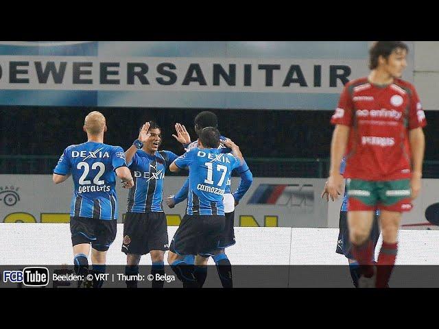 2010-2011 - Jupiler Pro League - 11. Zulte Waregem - Club Brugge 2-3