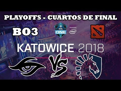 DOTA 2 STREAM - Secret vs Liquid BO3 ESL ONE Katowice 2018