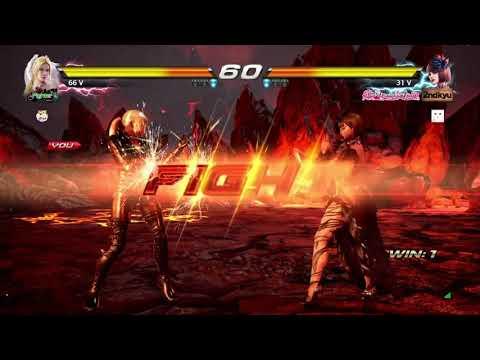 Tekken 7 - Nina Vs. Anna (1)