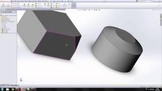 9. Урок Создание фасок и скруглений в SolidWorks