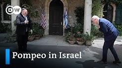US Aussenminister Pompeo besucht die neue israelische Regierung | DW Nachrichten