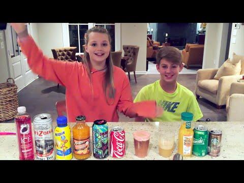 Mystery Drink Challenge!  (MattyBRaps Vs Carissa Adee)
