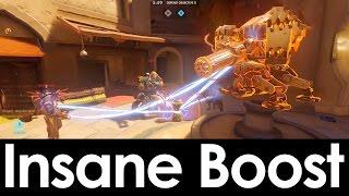 INSANE BASTION BOOST | Nanoboost/Mercy Boost/Orisa Boost On A Bastion!