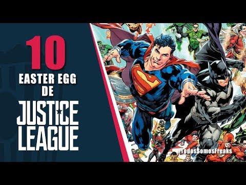 10 Easter Egg de Liga de La Justicia | Canal Freak