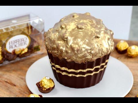 Giant Ferrero Rocher Cake Recipe