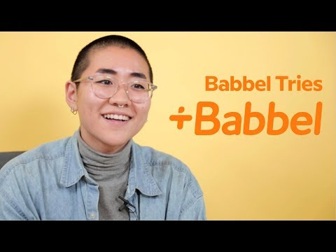 Babbel Tries Babbel: French Lesson