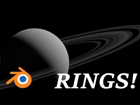 Blender Planetary Rings Tutorial