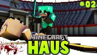 WIR GERATEN IN EINE PRÜGELEI ✿ Minecraft HAUS #02
