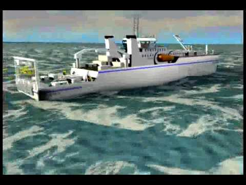How undersea cables are laid  YouTube