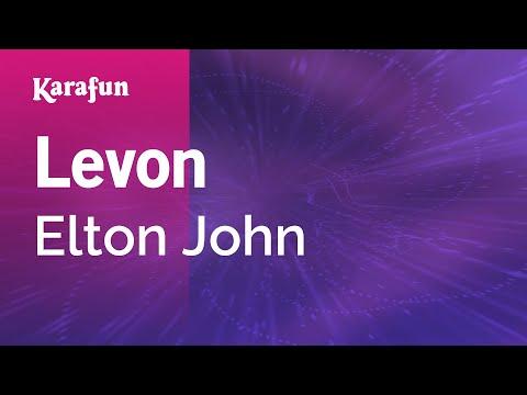 Karaoke Levon - Elton John *