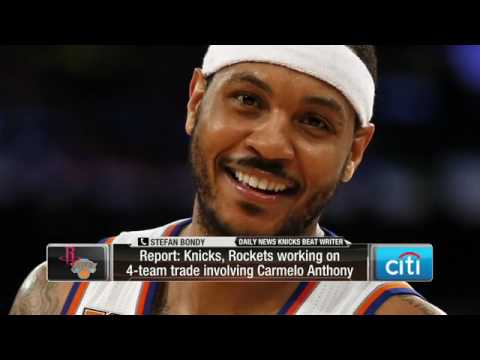 Here's the latest on potential Knicks/Rockets Carmelo Anthony trade