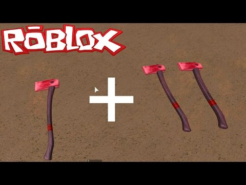 HOW TO DUPLICATE AXES! [NOT PATCHED]| Lumber Tycoon 2 | ROBLOX