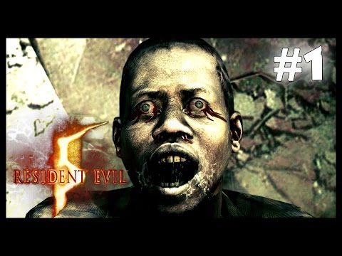 RESIDENT EVIL 5 #1 - WELCOME TO AFRICA (coop)
