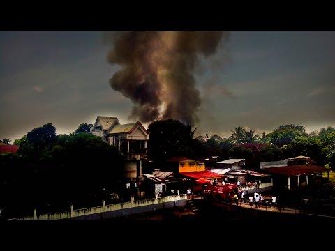 Infanta, Quezon: Sunog sa Bantilan
