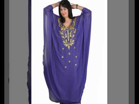 Egypt Bazar Online Shop präsentiert Arabische Festkleider Abaya aus dem Orient