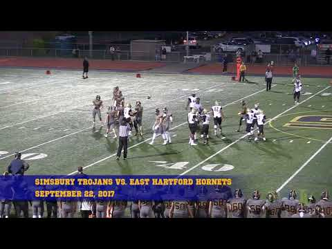 Simsbury High School Trojans Football: September 22, 2017