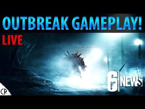 Outbreak gameplay Live! - Operation Chimera Live Stream - 6News - Tom Clancy's Rainbow Six