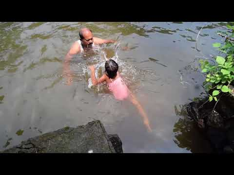 Swimming in natural pool/WEEKEND  LESSON