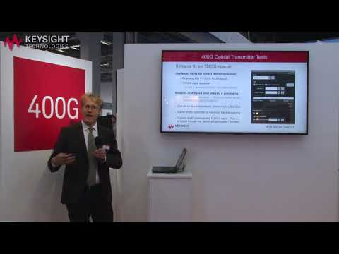 Keysight M8040A-32G 400G  Optical Transceiver Test - Solution to the Testing Challenges