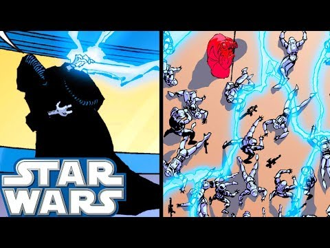 Sidious Turns SAVAGE and KILLS 100 Stormtroopers At Once - Star Wars Comics Explained
