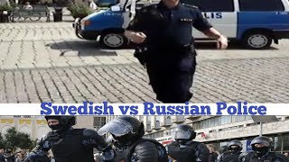 Swedish vs russian police