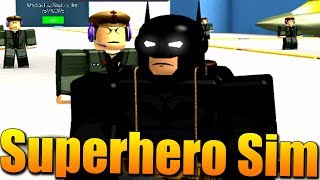 KONEČNĚ JSEM BATMAN!😂😎Roblox Superhero Simulator