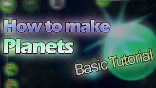 How to make planets in Geometry Dash 2.1 (Basic Tutorial) [Kentakiman]